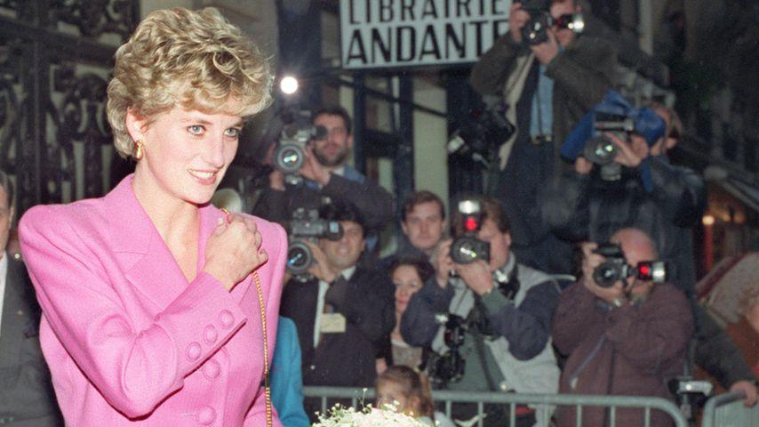 Prinzessin Diana im Jahr 1992