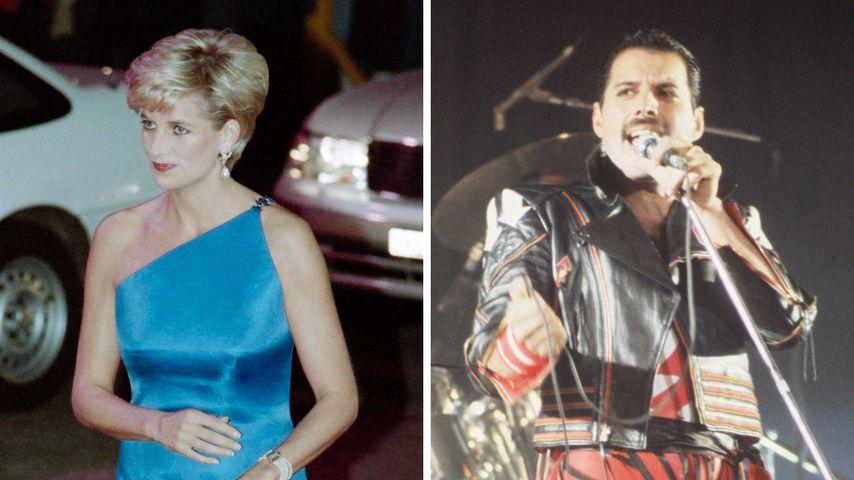 War Prinzessin Diana einst mit Freddie Mercury unterwegs?