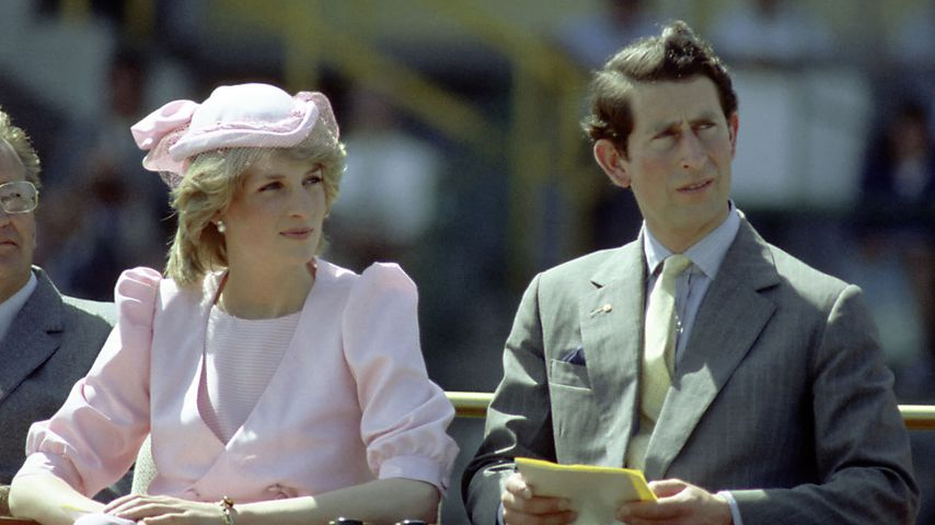 Prinzessin Diana und Prinz Charles, 1983