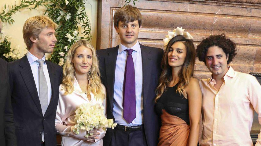 Getrennt zum Polterabend: Braut kam ohne ihren Prinzen!