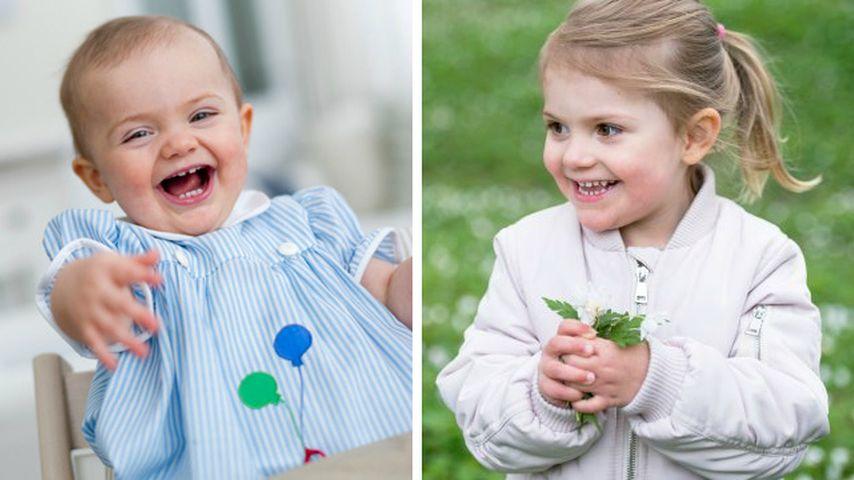 Baby-Rückblick: So hat sich Prinzessin Estelle verändert