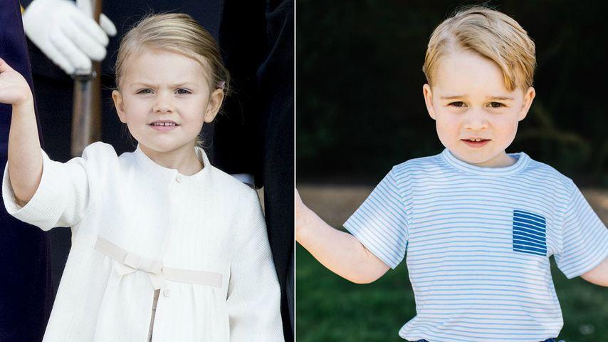 Royales Mini-Traumpaar: So perfekt passt George zu Estelle