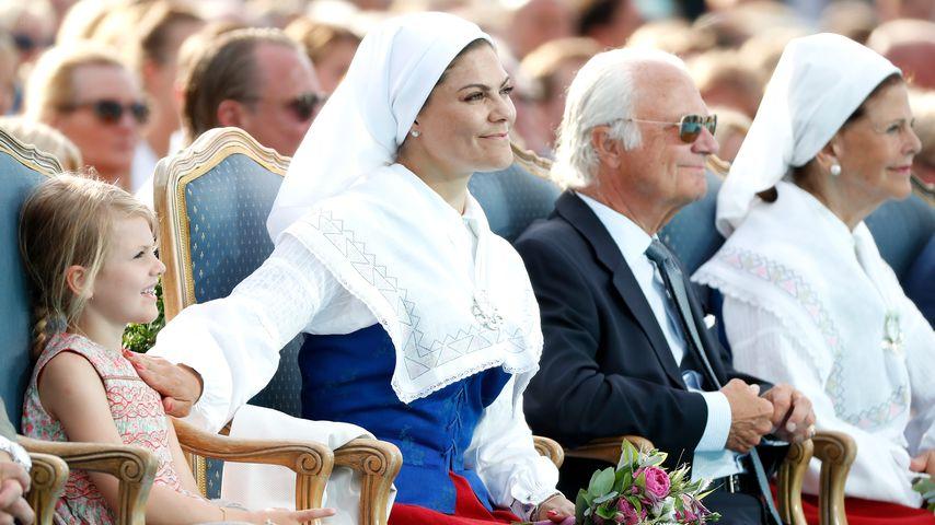 Prinzessin Estelle und Prinzessin Victoria von Schweden