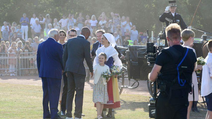Prinzessin Estelle von Schweden und ihre Mutter Prinzessin Victoria im Juli 2019