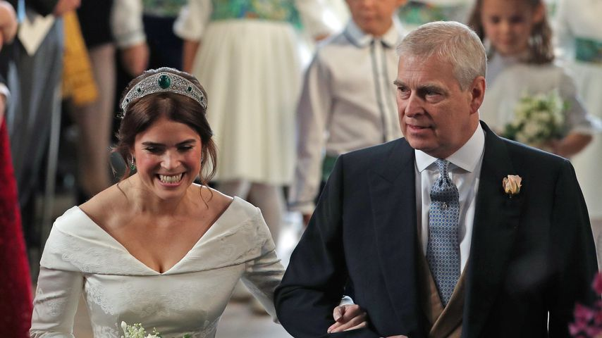 Prinzessin Eugenie und ihr Vater Prinz Andrew