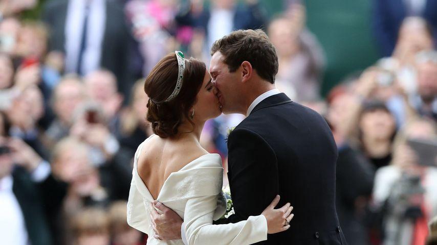Prinzessin Eugenie und Jack Brooksbank bei ihrer Hochzeit im Oktober 2018 in England