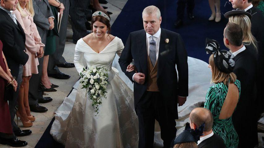 Ohne Schleier: So schön war Prinzessin Eugenie als Braut!