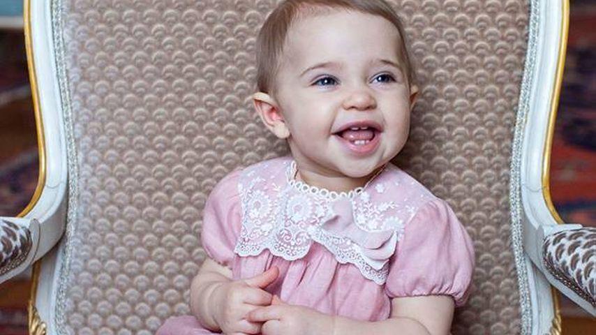 So süß gratuliert Mama Madeleine ihrer Prinzessin