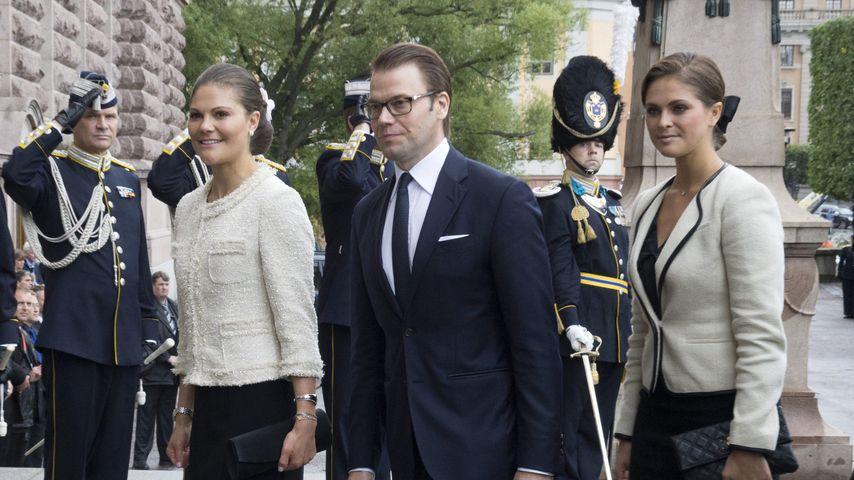 Prinzessin Madeleine und Prinzessin Victoria in Stockholm