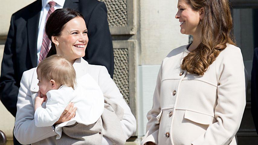 Madeleine von Schweden präsentiert prächtige Babykugel