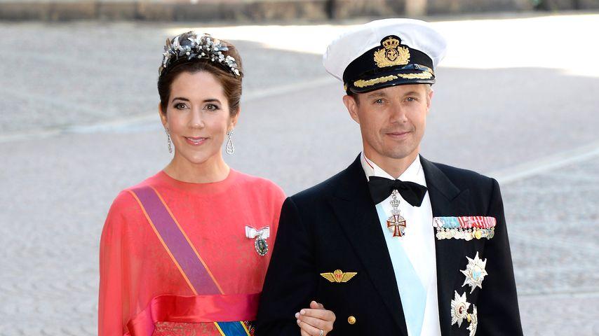 Prinzessin Mary und Prinz Frederik 2013 in Stockholm