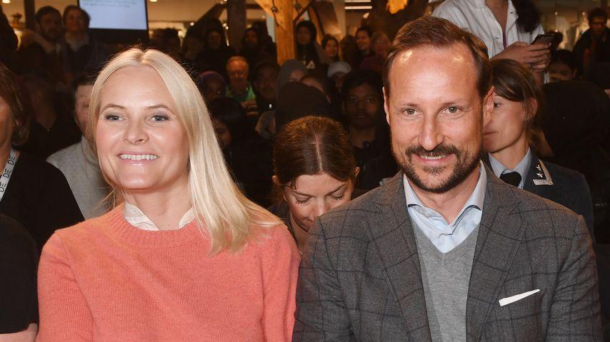 Prinzessin Mette-Marit und Prinz Haakon im Mai 2019