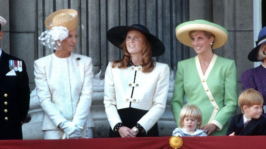 Prinzessin Michael of Kent, Sarah Ferguson und Prinzessin Diana