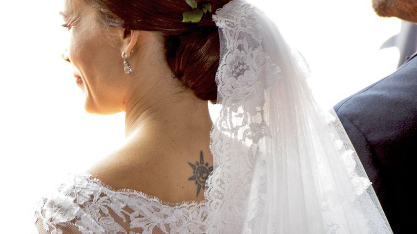 Zarte Spitze zum Tattoo: Überzeugte Sofia als Braut?