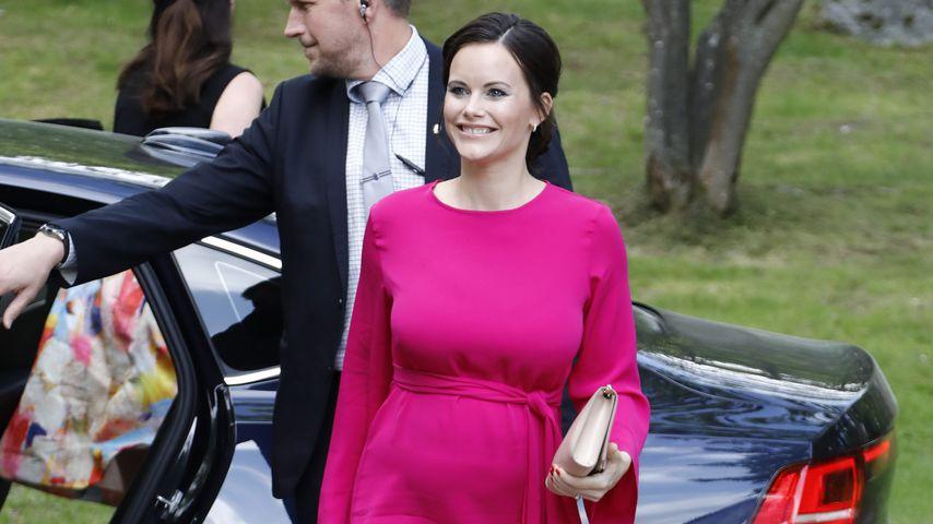 Prinzessin Sofia während ihrer zweiten Schwangerschaft