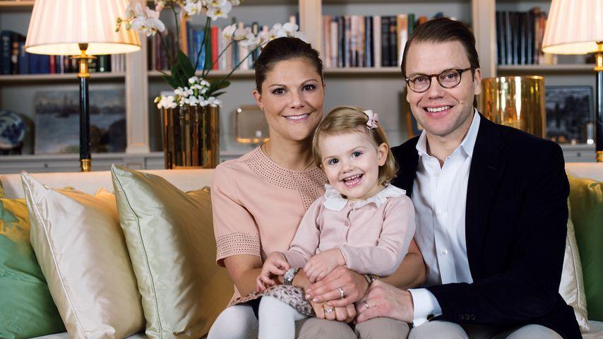 Prinzessin Estelle: Familienidyll mit Mama & Papa