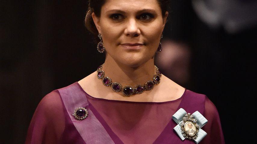 Super-Dekolleté: Prinzessin Victoria zeigt Schwanger-Kurven!