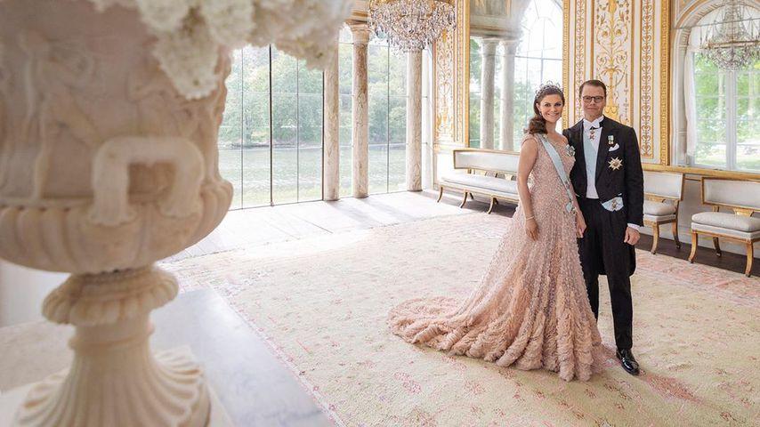 Prinzessin Victoria und Prinz Daniel von Schweden im Juni 2020