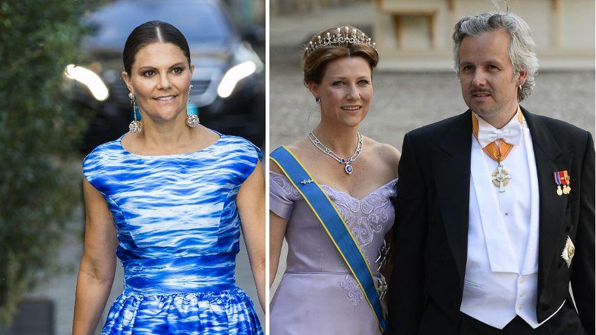 Tod von Ex-Mann: Victoria von Schweden steht Märtha bei