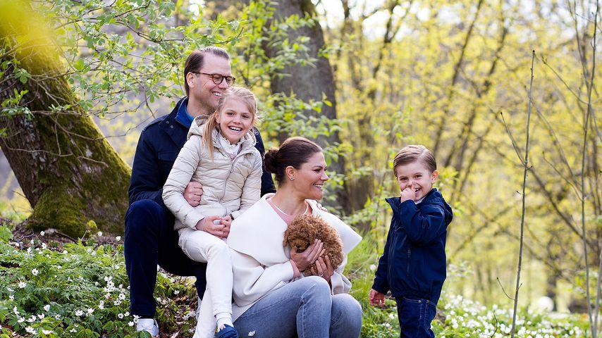 Süße Fotos: Estelle und Oscar von Schweden als Mini-Imker