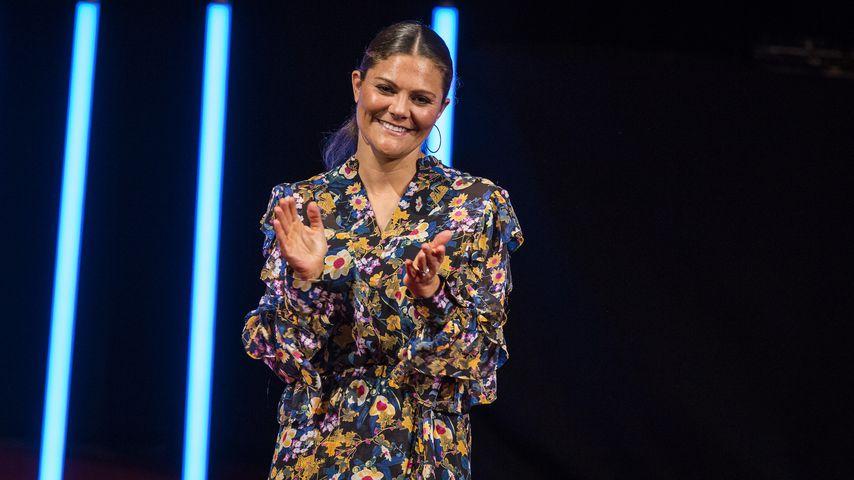 """Prinzessin Victoria von Schweden beim """"Junior Water Preis"""" in Stockholm"""