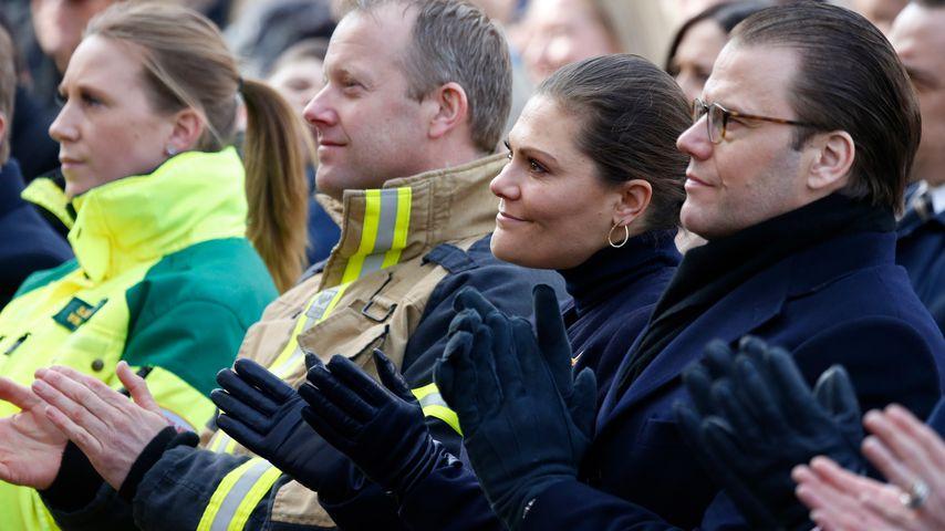 Nach Anschlag: Victoria von Schweden weint bei Gedenkfeier