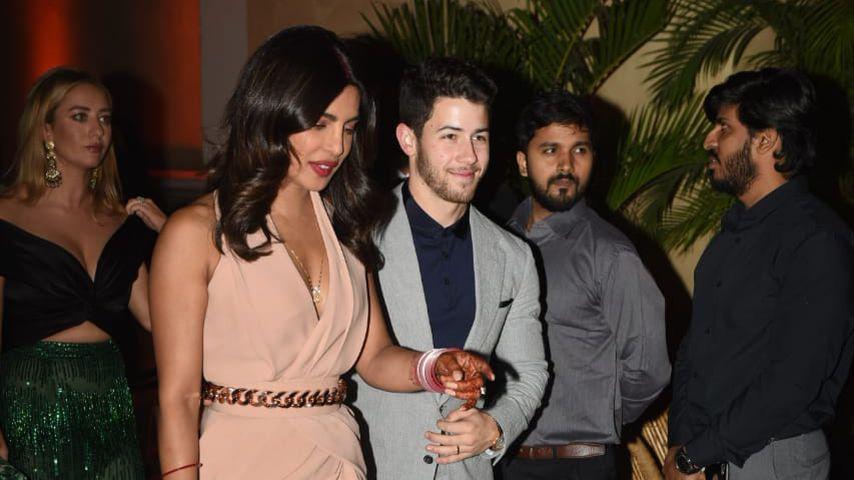 Priyanka Chopra und Nick Jonas bei einem Event in Indien, Dezember 2018