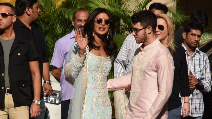 Priyanka Chopra und Nick Jonas in Indien