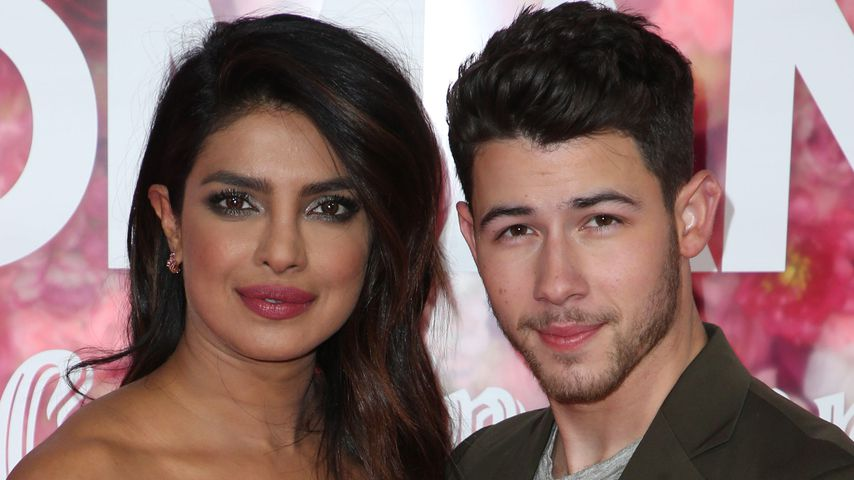 """Priyanka Chopra und Nick Jonas bei der """"Isn't It Romantic""""-Premiere, 2019"""