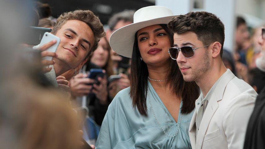 Priyanka Chopra und Nick Jonas nehmen sich in Cannes Zeit für ihre Fans
