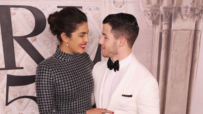 Priyanka Chopra und Nick Jonas bei der New York Fashion Week 2018