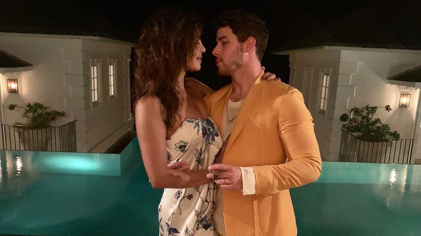 Priyanka Chopra und Nick Jonas in der Karibik