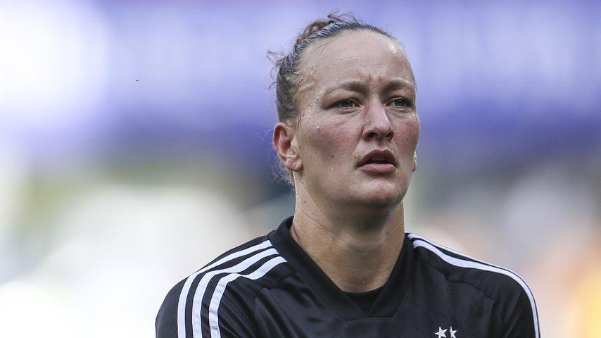 Profisportlerin Almuth Schult bei der Weltmeisterschaft in Frankreich 2019