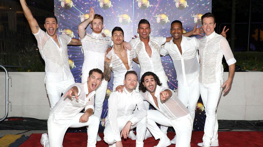 """Profi-Tänzer der """"Strictly Come Dancing""""-Show"""