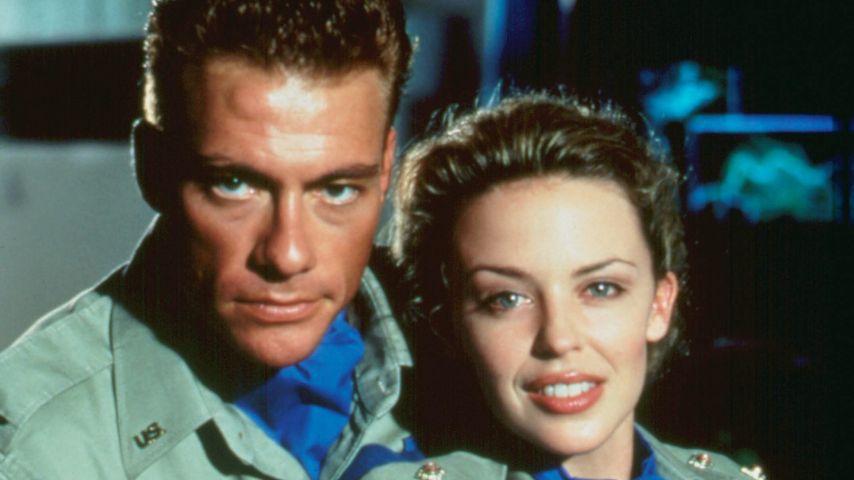 Jean-Claude van Damme und Kylie Minogue