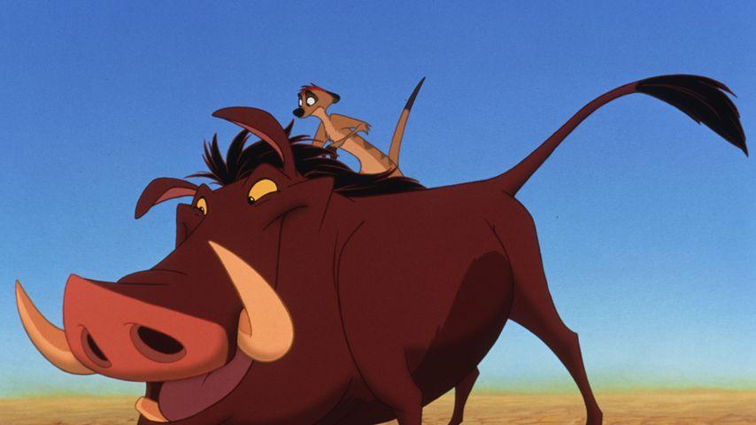 """Pumba und Timon in """"König der Löwen"""""""