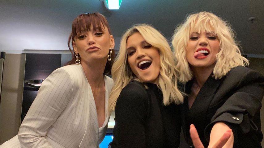 Jessica, Ashley und Kimberly von der Band Pussycat Dolls im März 2020