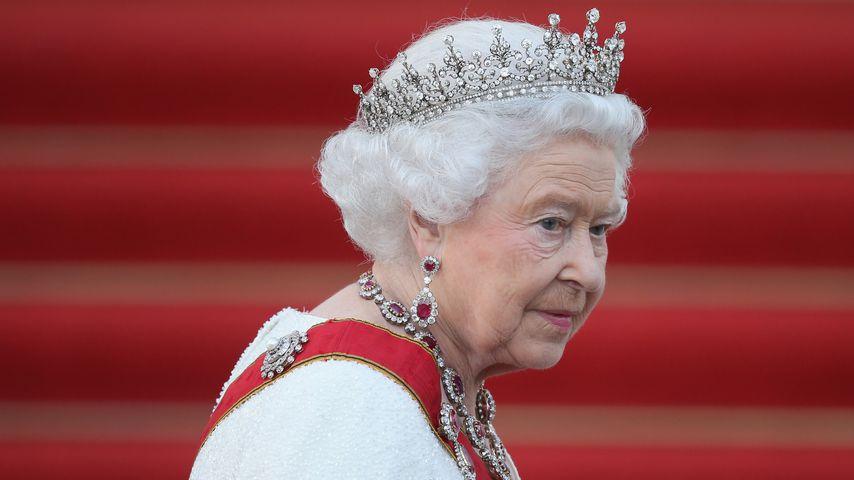Queen Elizabeth II. bei ihrem Besuch in Berlin 2015