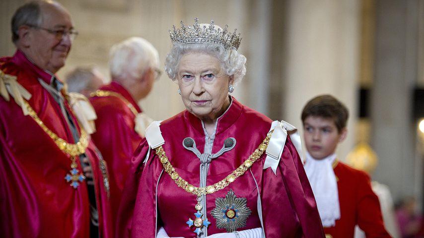 Queen Elizabeth II. in der St. Paul's Cathedral 2012