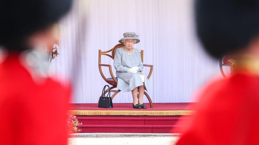 Queen Elizabeth II. bei ihrer Geburtstagsparade 2021