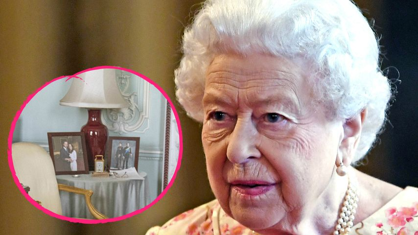 Queen sauer? Harry und Meghans Bild fehlt im Audienz-Saal