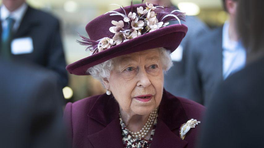 Queen Elizabeth II. in London im Februar 2020