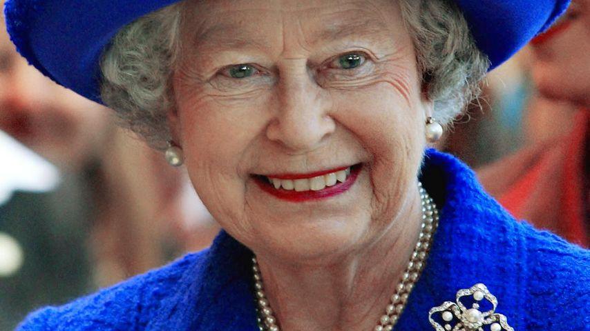Queen Elizabeth II. besucht das Sheridan College in Oakville im Oktober 2002