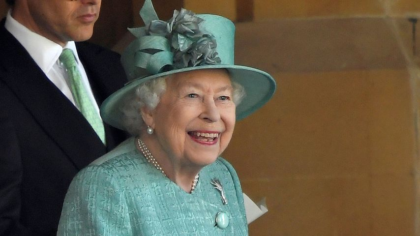 Queen Elizabeth II. beim Trooping the Colour 2020