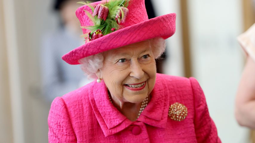 Virtuelle Enthüllung: Die Queen bestaunt ihr neues Porträt