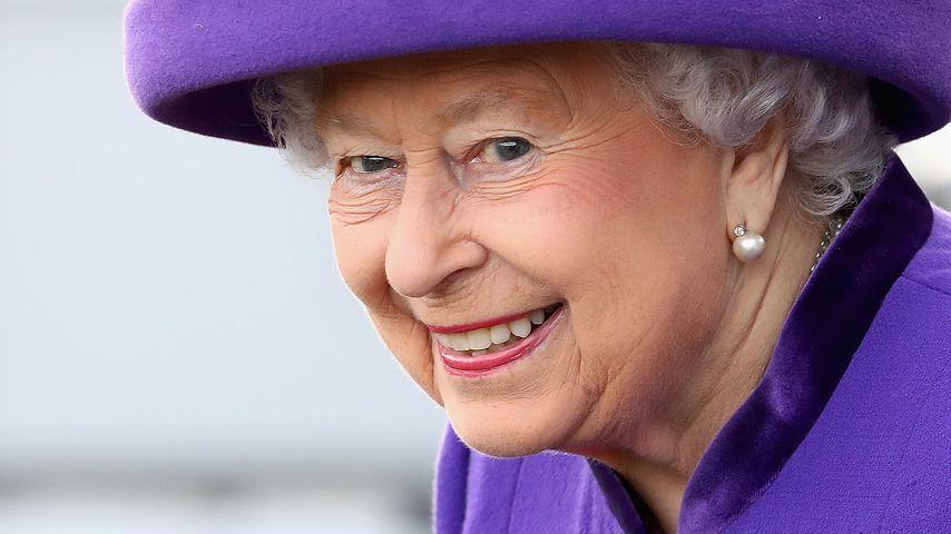 Queen Elizabeth II. in Portsmouth 2017