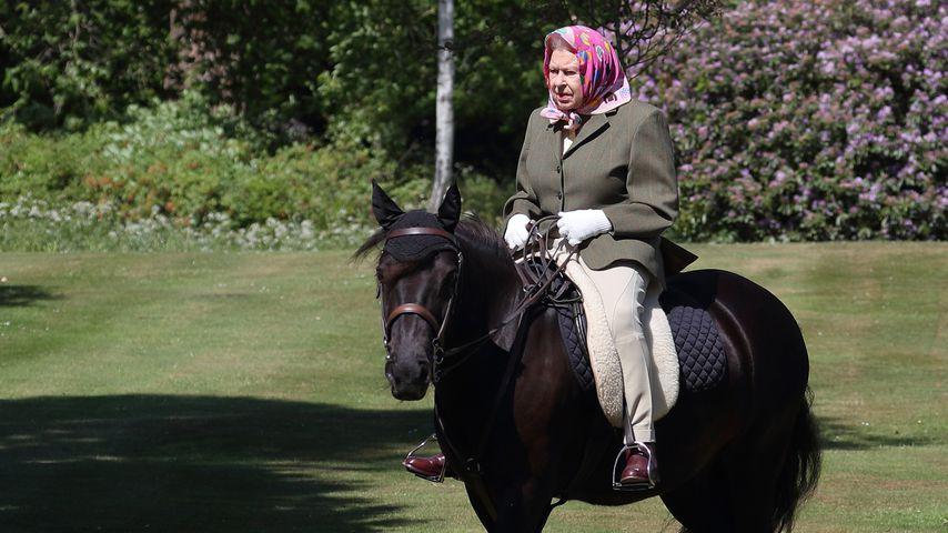 Queen Elizabeth II. auf Schloss Windsor
