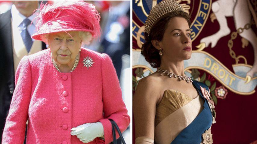 """Royaler Aufreger: Queen mit """"The Crown""""-Szene unzufrieden"""