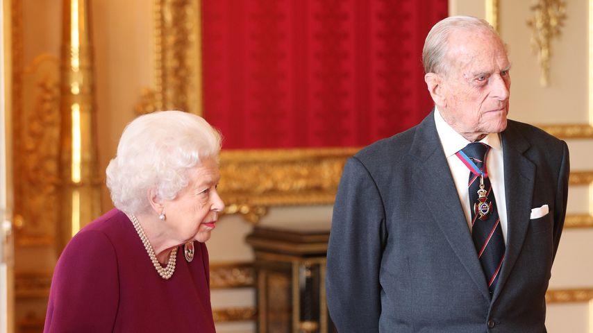 Telefonieren die Queen & Prinz Philip nur noch miteinander?