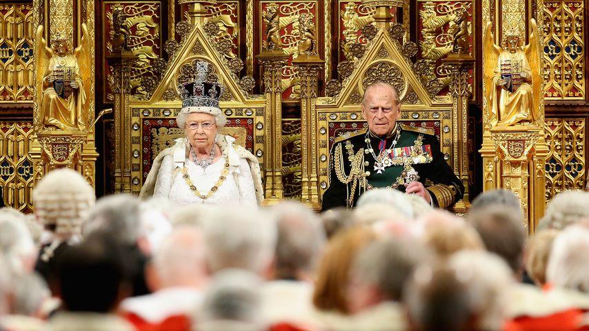 Queen Elizabeth II. und Prinz Philip im Mai 2016